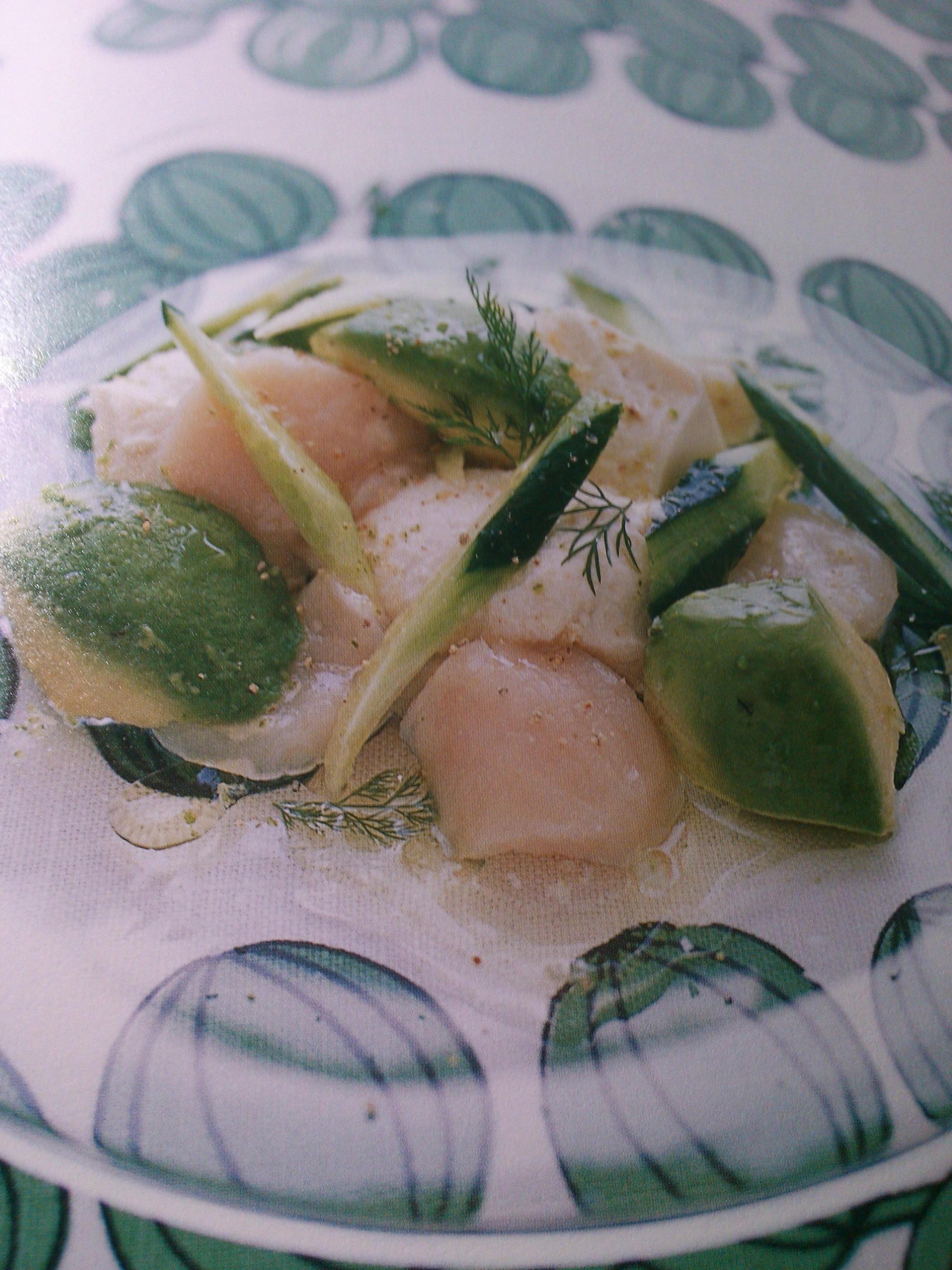 豆腐とアボカドのライムソルトサラダ
